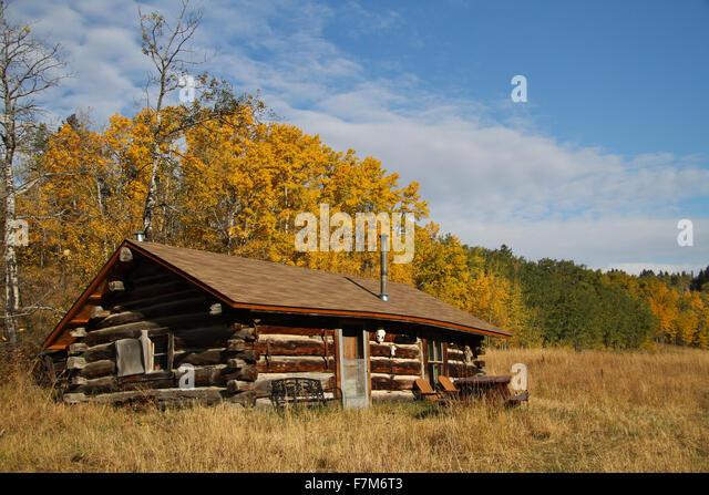 Montana cabin stock photos montana cabin stock images for Indian bear lodge cabins
