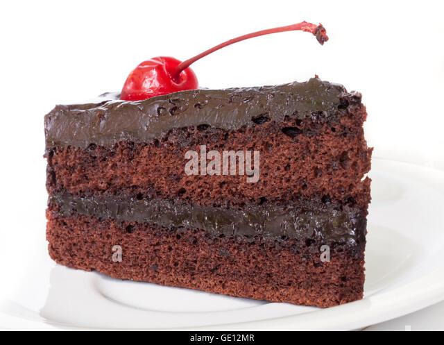 Cherry Rhum Chocolate Cake