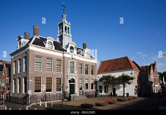 Town hall Edam Netherlands - Stock Image