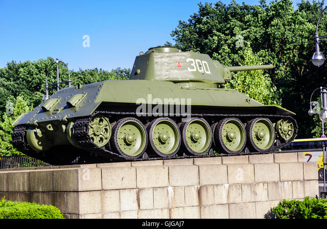 The Soviet T34 The Lethal Tank that Won World War II