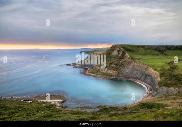 Chapman's Pool, Worth Matravers, Isle of Purbeck, Dorset, England - Stock-Bilder