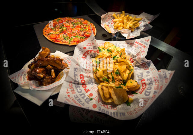 Pizza hut stock photos pizza hut stock images alamy for American style cuisine
