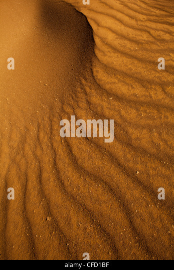 Sand formations in Sarigua national park (desert) in Herrera province, Republic of Panama. - Stock-Bilder