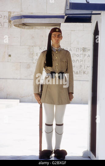 Honor Guard in old uniforms - Stock Image