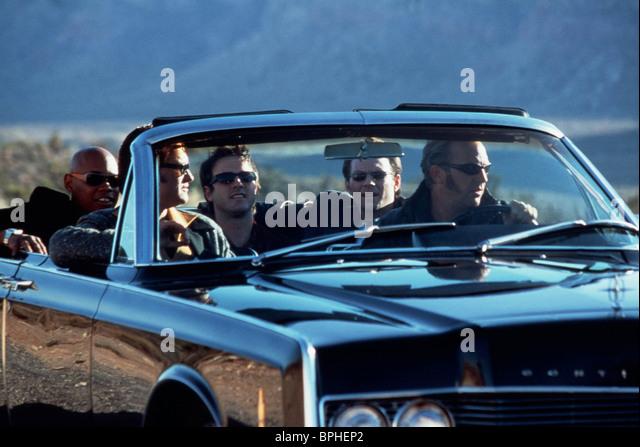 BOKEEM WOODBINE KURT RUSSELL DAVID ARQUETTE CHRISTIAN SLATER & KEVIN COSTNER 3000 MILES TO GRACELAND (2001) - Stock Image