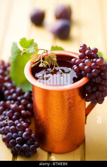 jug  of  house wine - Stock Image