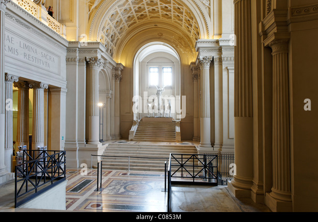 Museo di Risorgimento in the Monument of Vittorio Emanuele, il Vittoriano, Rome, Italy, Europe - Stock Image
