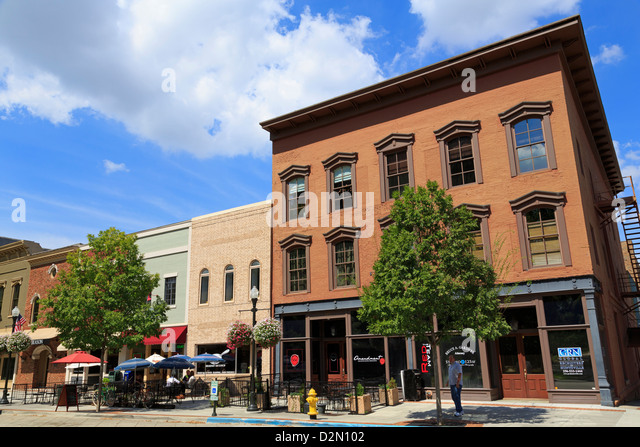 Randolf Avenue, Huntsville, Alabama, United States of America, North America - Stock Image