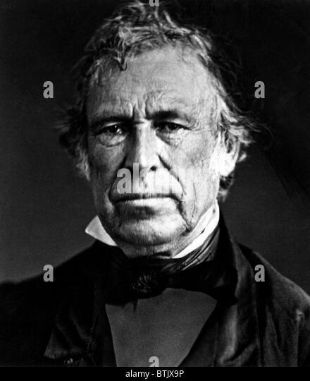 Zachary Taylor, (1784-1850), U.S. President 1849-1850, 1849. - Stock-Bilder