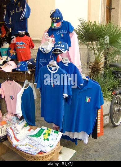 Sport shop football shirts stock photos sport shop for Sports shirts near me