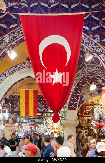 Classical turkish ceramics on the bazaar istanbul stock photo - Istambul Grand Bazaar Stock Photos Amp Istambul Grand Bazaar