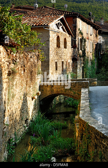 St Antonin Noble Val, Tarn et Garonne, France - Stock Image