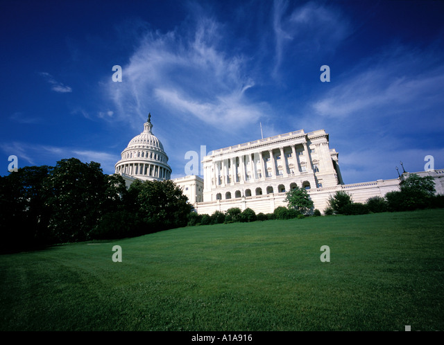 U.S. Capitol building, Washington D.C. - Stock Image