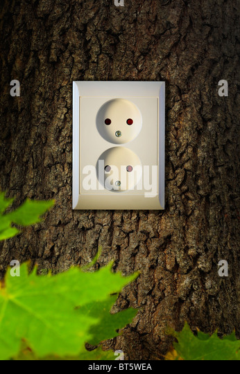 Green energy - Stock Image