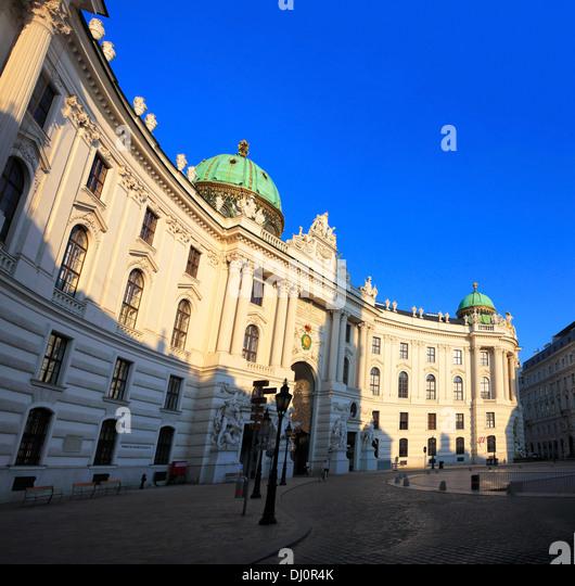 Hofburg Palace, St. Michael's Wing, Vienna, Austria - Stock Image