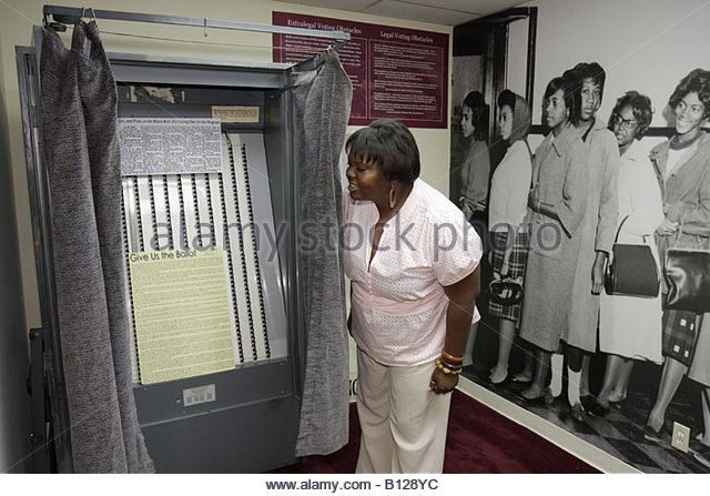 Selma Alabama National Voting Rights Museum and Institute Civil Rights Movement segregation Black History voting - Stock Image