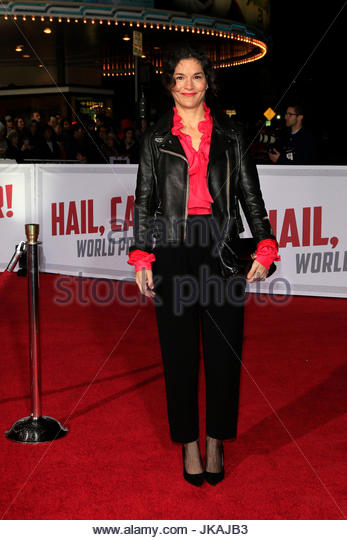Heather Goldenhersh. Celebs at the Universal Pictures' 'Hail, Caesar!' world premiere at Regency Village - Stock Image