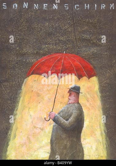 Sonnenschirm Umbrella - Stock-Bilder