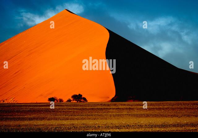 Africa Namibia Sesriem Sossusvlei sand dune - Stock-Bilder