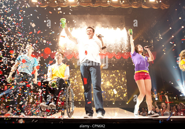 Glee : The 3D Concert Movie - Stock Image