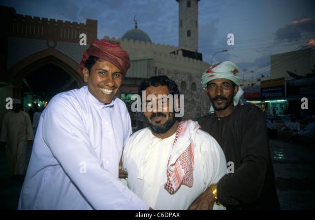 Souk an der Corniche, Bazar, Stadt, Mutrah, Muscat, Oman, Bazar, souk, suq, souq, Corniche, Mutrah, old town, Muscat - Stock-Bilder