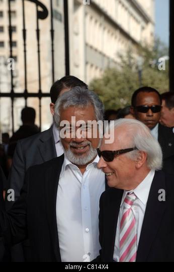 East Timor prime minister Xanana Gusmão - Stock Image