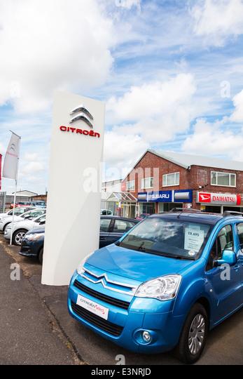 Citroen car stock photos citroen car stock images alamy for Garage citroen auch