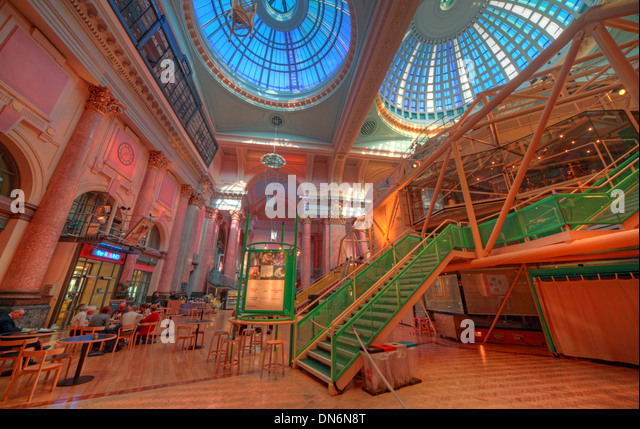 Manchester Royal Exchange Theatre Interior England UK - Stock Image