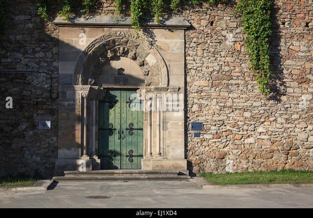 Galician Historical Archive. A Coruña. Galicia. Spain. - Stock Image