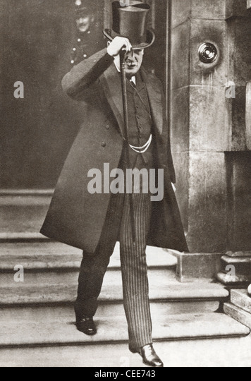 David Lloyd George, 1st Earl Lloyd-George of Dwyfor, 1863 – 1945. British Liberal politician, statesman and Prime - Stock Image