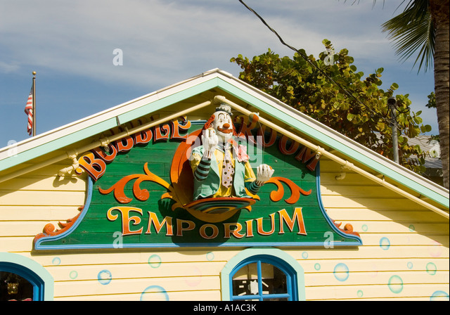Florida Captiva Island Bubble Room restaurant - Stock Image