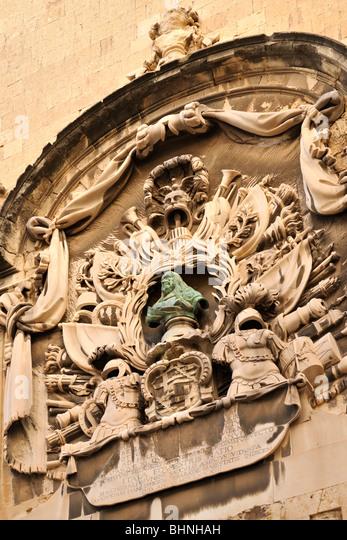 Auberge d italie, Valletta - Stock-Bilder