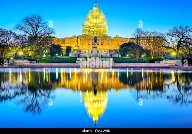 Washington, D.C. at the Capitol Building. - Stock-Bilder