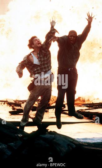JEFF BRIDGES & FOREST WHITAKER BLOWN AWAY (1994) - Stock Image