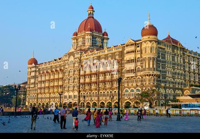 India, Maharashtra, Mumbai (Bombay), Taj Mahal Palace hotel - Stock Image