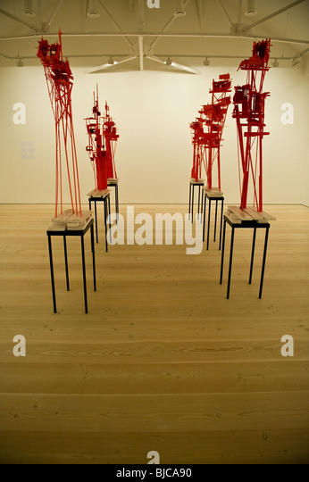 An art installation at the Saatchi Gallery in London, UK - Stock Image