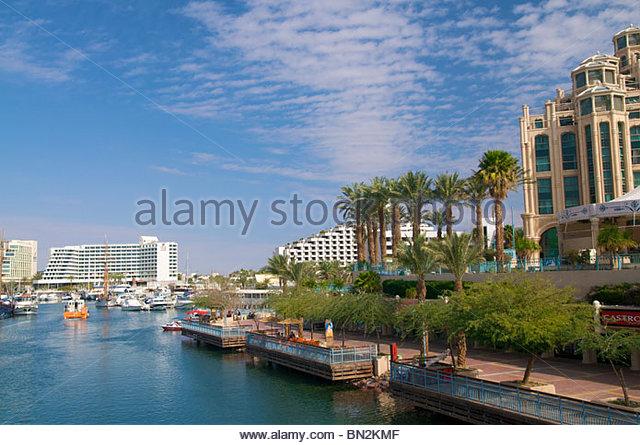 Marina Eilat Israel - Stock Image