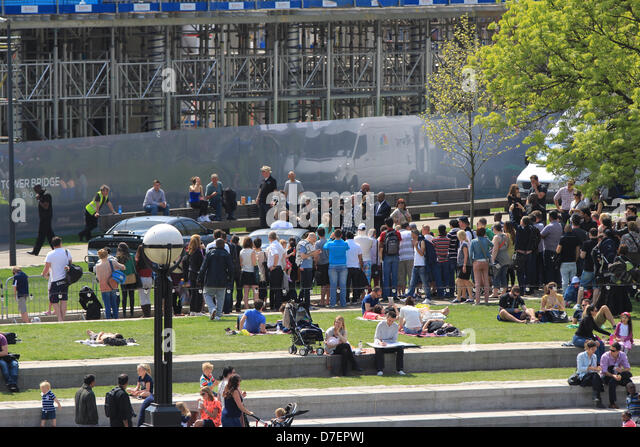 London, UK. 6th May, 2013. The Cast of Fast & Furious 6 promoting the new film at Potters Field, London. - Stock Image