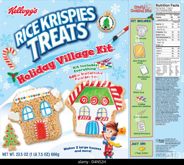 Kelloggs rice krispies stock photos amp kelloggs rice krispies stock