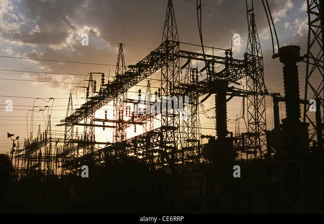 HMA 85818 : hindalco power plant ; renusagar ; uttar pradesh ; india - Stock-Bilder