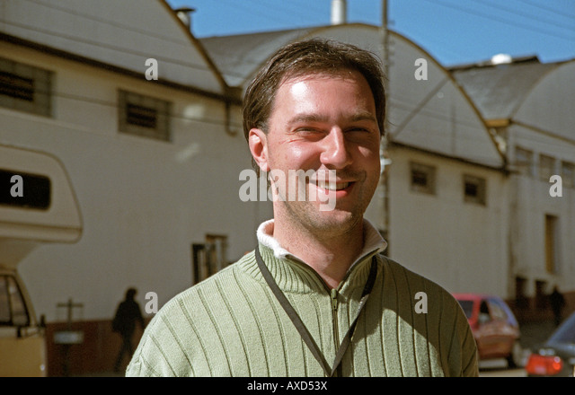 Antonio Czarnobay, wine maker at wine cooperative Aurora, Bento Goncalves, southern Brazil - Stock Image