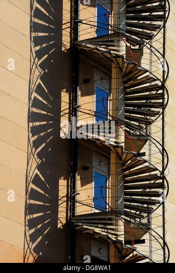 Escalera stock photos escalera stock images alamy - Escaleras de caracol barcelona ...