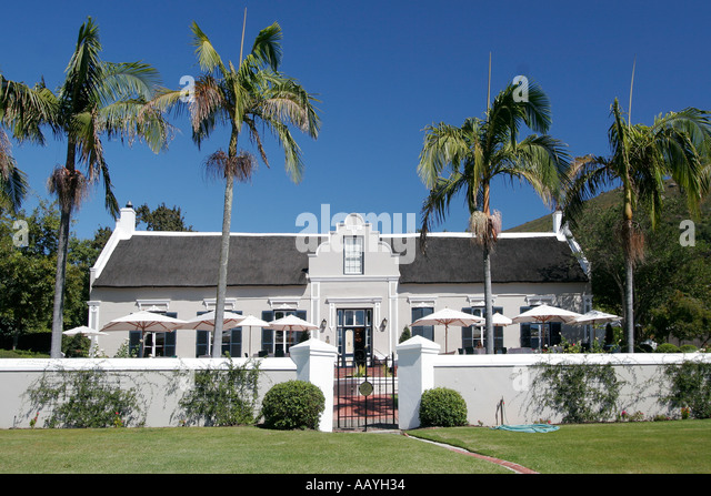 south africa Paarl Grande Roche wine estate and hotel - Stock Image