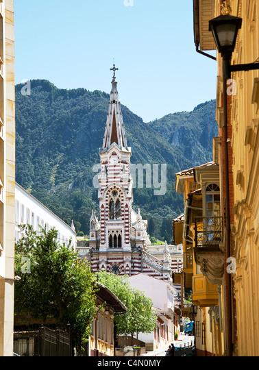 El Carmen Church Bogota - Stock Image