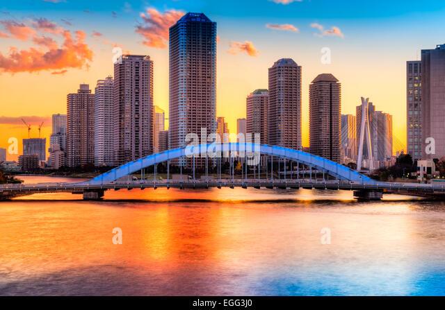 japan tokyo skyscrapers bridge - photo #18