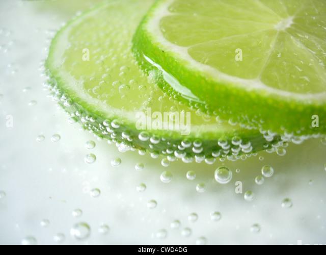 freshness,citrus fruit,lime - Stock Image