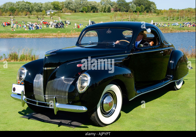Lincoln zephyr stock photos lincoln zephyr stock images for 1939 lincoln zephyr 3 window coupe