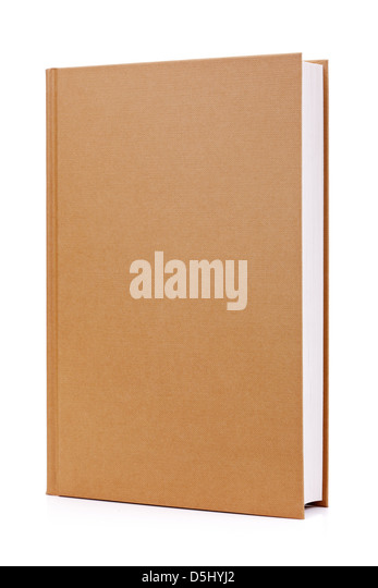 Hardcover book - Stock Image