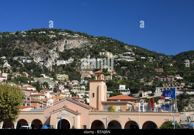 South France Cote d Azur Villefranche sur mer - Stock Image