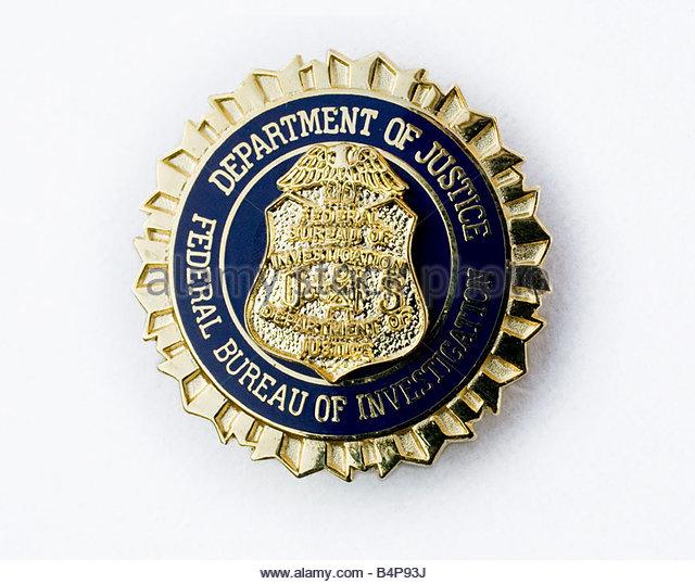 fbi badge stock photos fbi badge stock images alamy. Black Bedroom Furniture Sets. Home Design Ideas